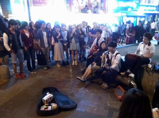 Live music in Hongdae