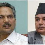 Prime Minister Baburam Bhattarai (left) is the effective leader of the Unified Communist Party of Nepal (Maoist). Ram Chandra Paudel (right) is Vice President of the Nepali Congress Party. Both men ran against each other last year for the office of prime minister. This year their parties are among several trying to gain a majority of seats in the Constituent Assembly.