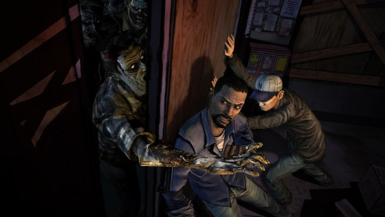 A screenshot from Telltale Games' The Walking Dead (SOURCE: destructoid.com)