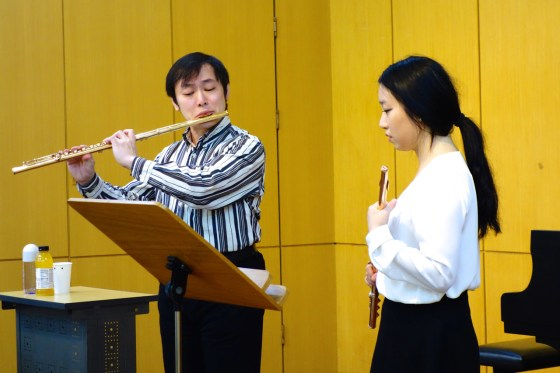 Flute masterclass with Kazunori Seo