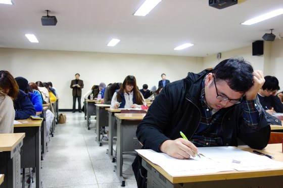 Students compete in English Writing Contest