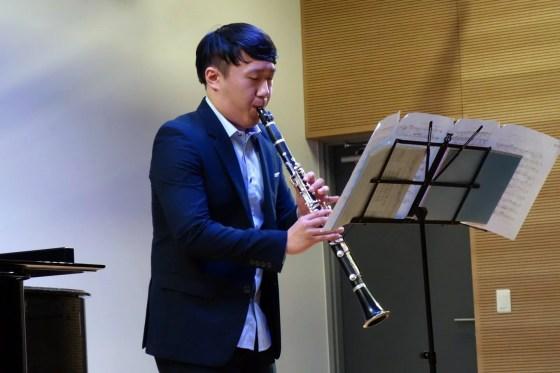 H. Sutermeister - Capriccio for Solo Clarinet - Kho Ji-hoon (clarinet) - PHOTO: Charles Ian Chun