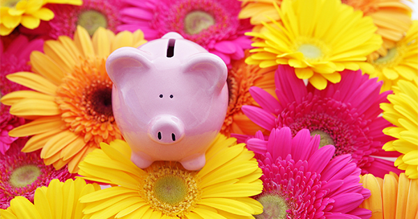 Spring-Piggy-Bank