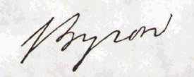 Lord Byron Potraits, Images & Photos Of Byron & Family
