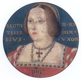 Portrait of Katharine of Aragon by Lucas Horenbout
