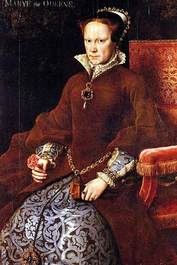 portrait of Queen Mary I, by a follower of Anthonis Mor, c.1555-58