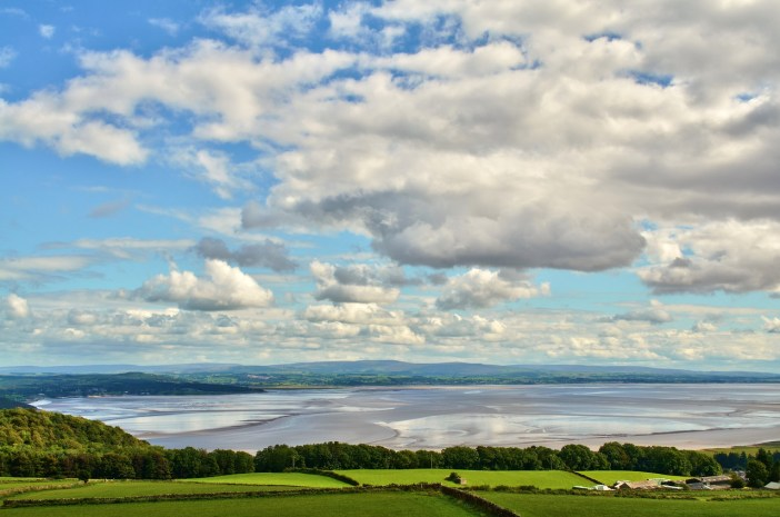 Views over Morecambe Bay