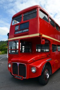 Routemaster Bus at Low Wood Bay