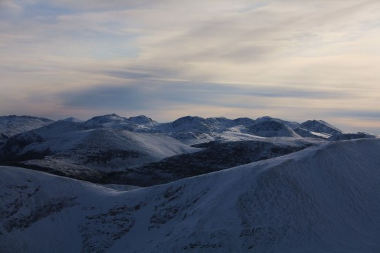 The Sca Fells from Grisedale Pike