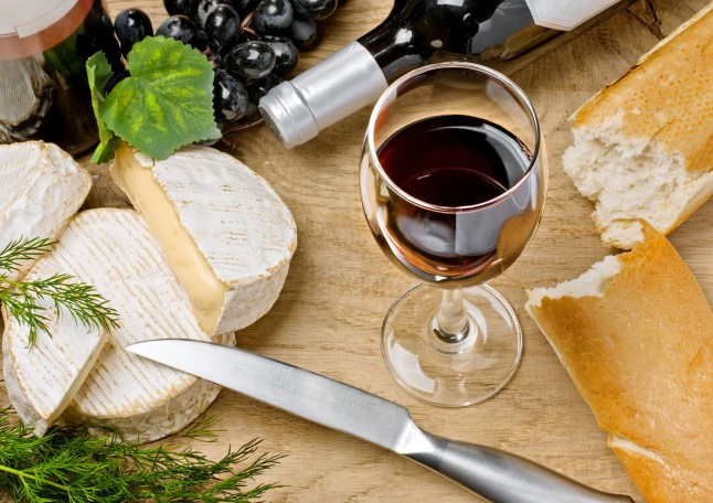 Brouilly wine from north Beaujolais, perfect with cheese