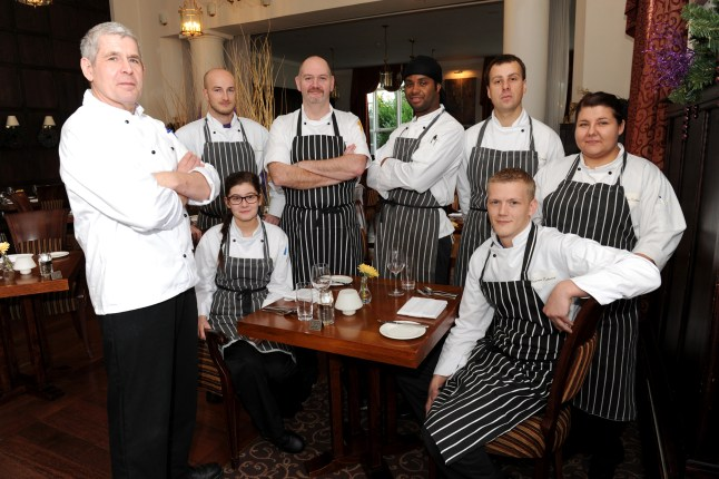 Low Wood Bay Kitchen Team (Credit: The Westmorland Gazette)