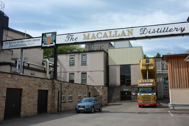 The Macallan Distillery. Photo by: Martin Thomas