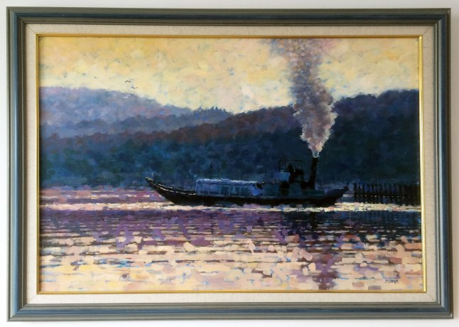 Mike's Masterpiece, currently on display at Waterhead