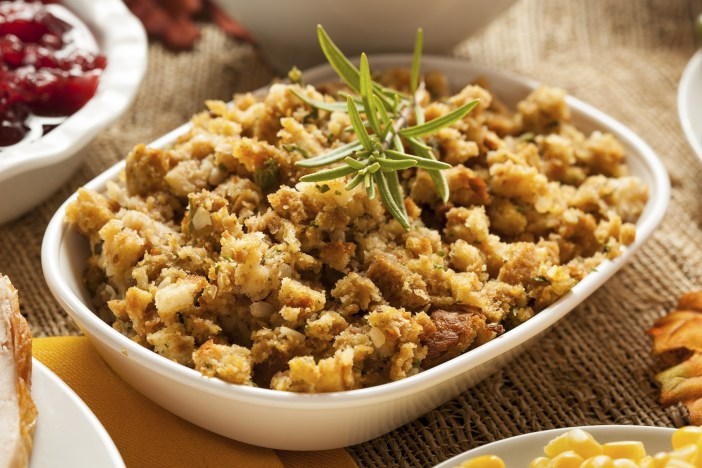 Homemade Christmas Stuffing
