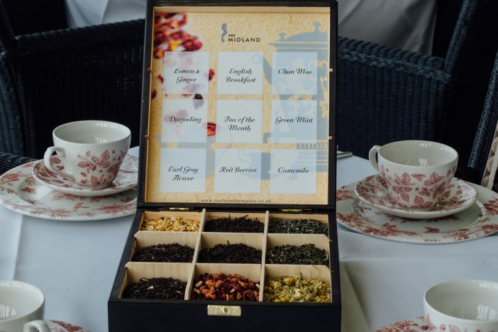 A vast selection of loose leaf teas