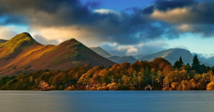 Catbells over Derwentwater, the Lake District National Park - location for Star Wars scenes