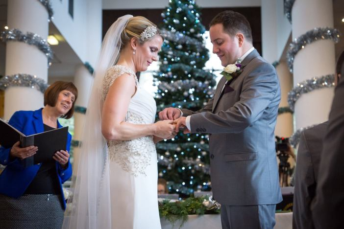 Helen and Craig in the Gallery at Low Wood Bay