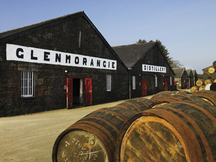 The Glenmorangie distillery in Tain, Scotland / Glenmorangie