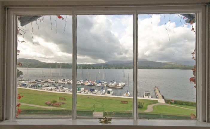 Views out of Windermere from Low Wood Bay's Lake View room