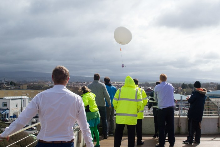 Up, up, up and away from The Midland's roof top terrace