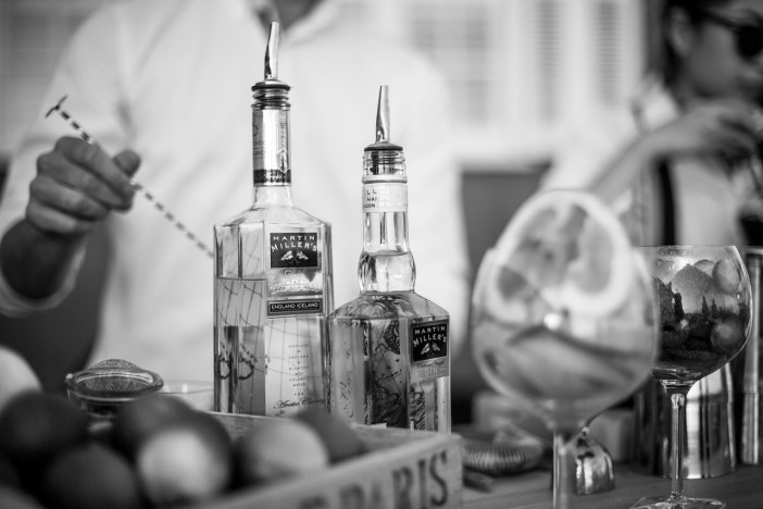 Expertly crafted Gin and Tonic's / Martin Miller's Gin