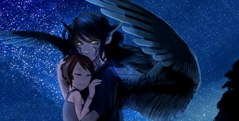 (pictured: Mimizuku and the King of Night -- art source)