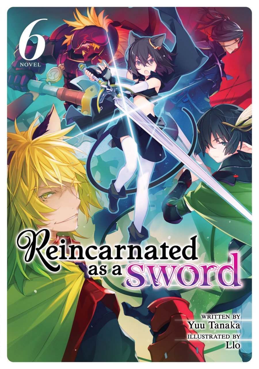 Reincarnated as a Sword Volume 6  Cover