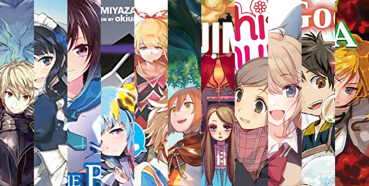 Light Novels Releasing This Week May 25-30, 2020 Article Banner