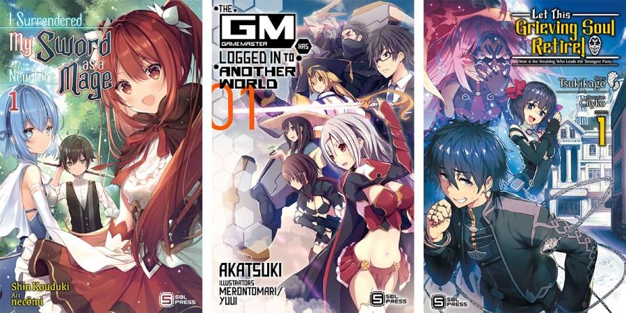 Sol Press Announces Five New Licenses Including Three Light Novels Banner Image