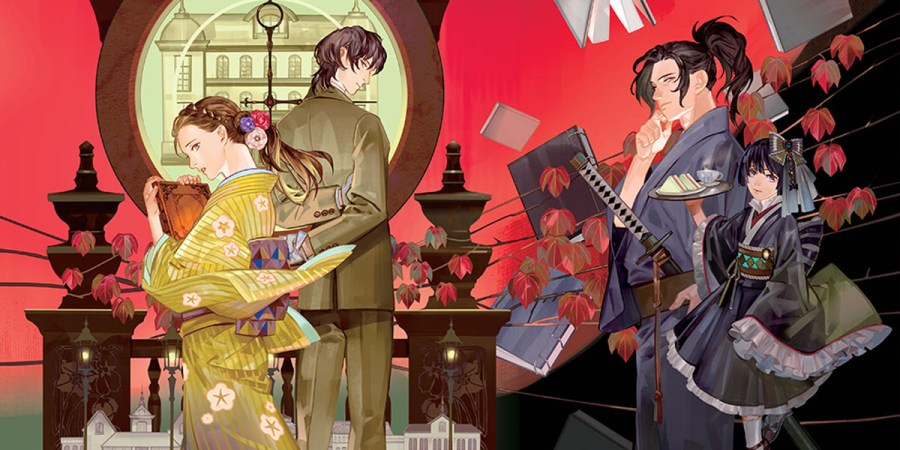 Romance of the Imperial Capital Kotogami: A Tale of Living Alongside Spirits banner image