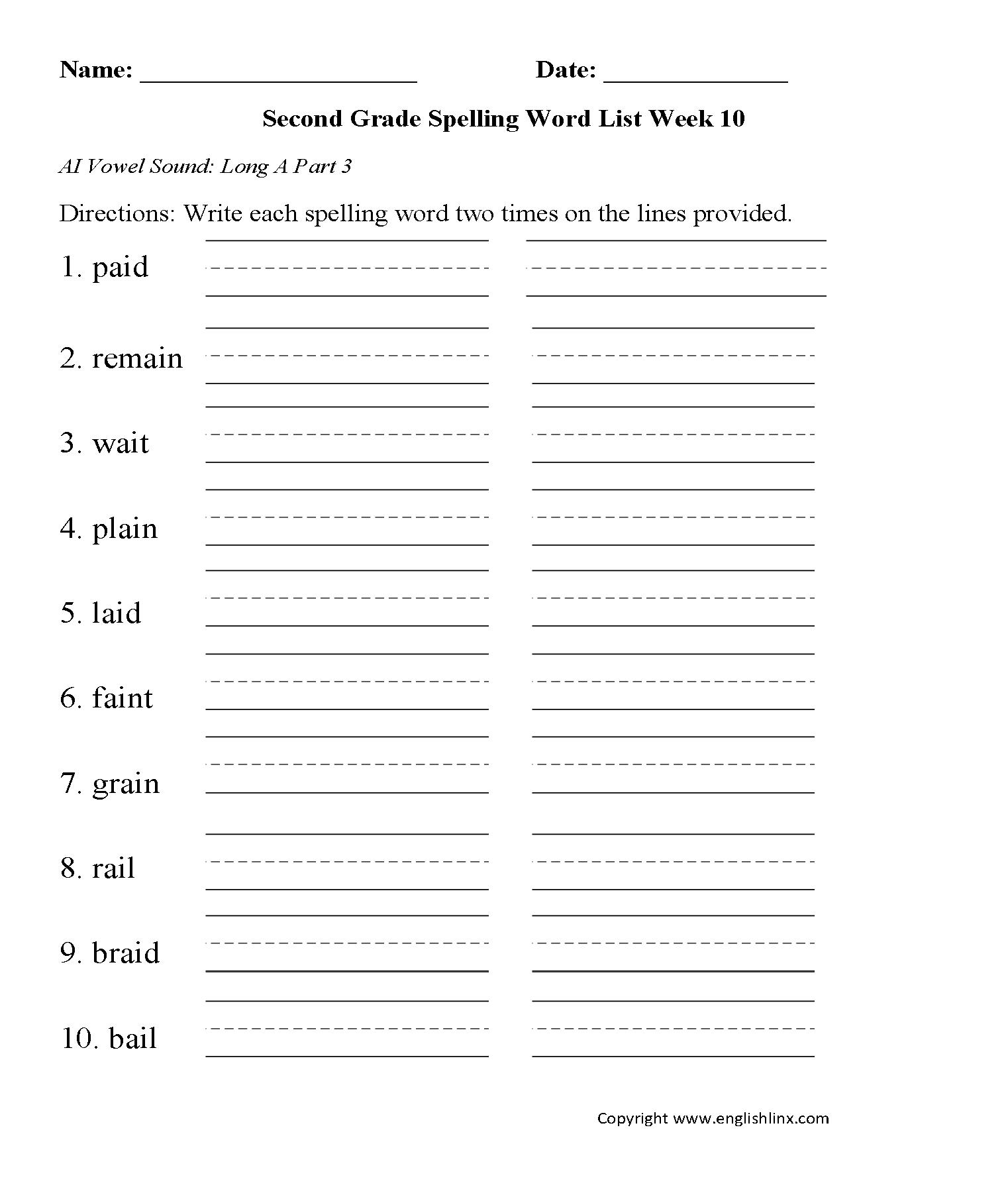 worksheet. Spelling Word Worksheets. Worksheet Fun