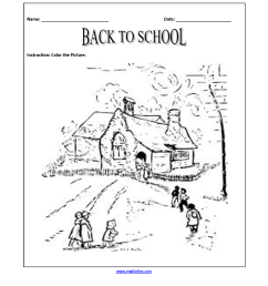 Englishlinx.com   Back to School Worksheets [ 2200 x 1700 Pixel ]