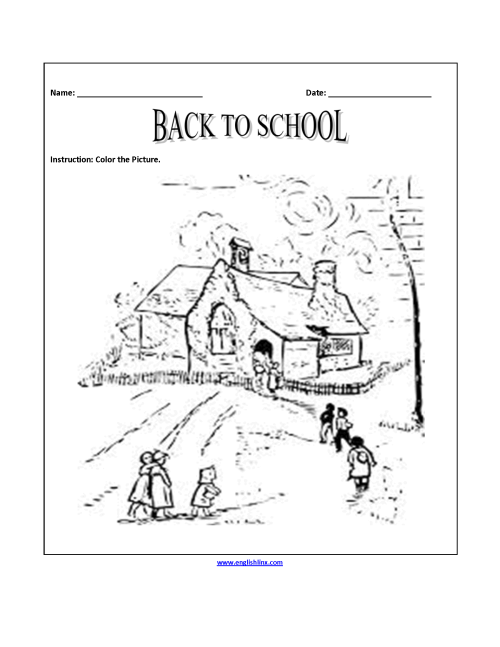 small resolution of Englishlinx.com   Back to School Worksheets