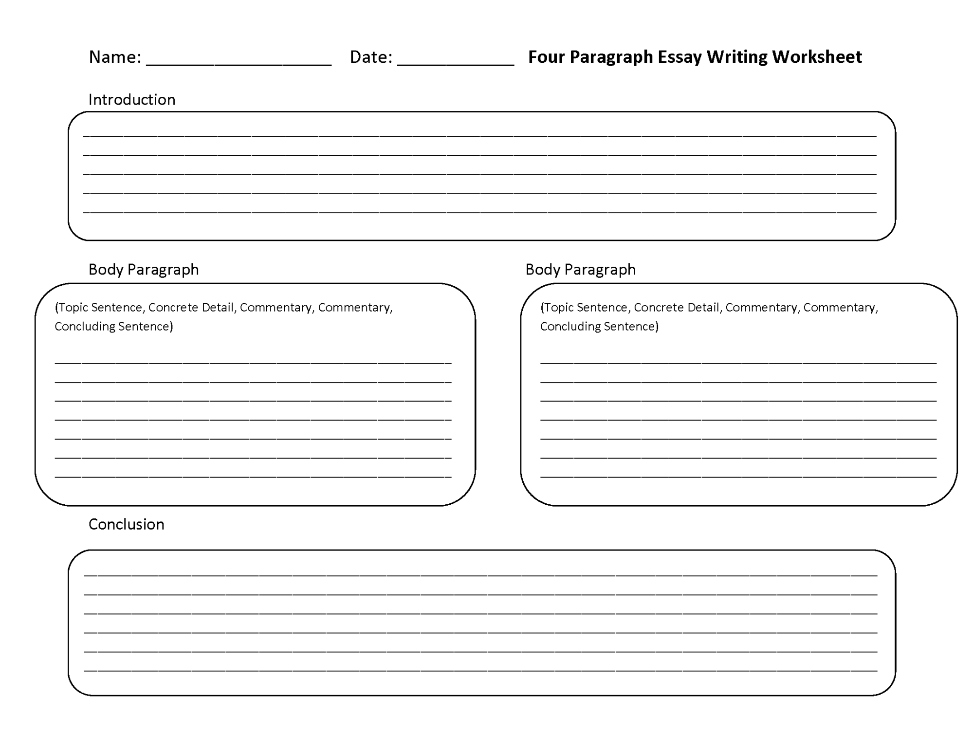 hight resolution of Writing Worksheets   Essay Writing Worksheets