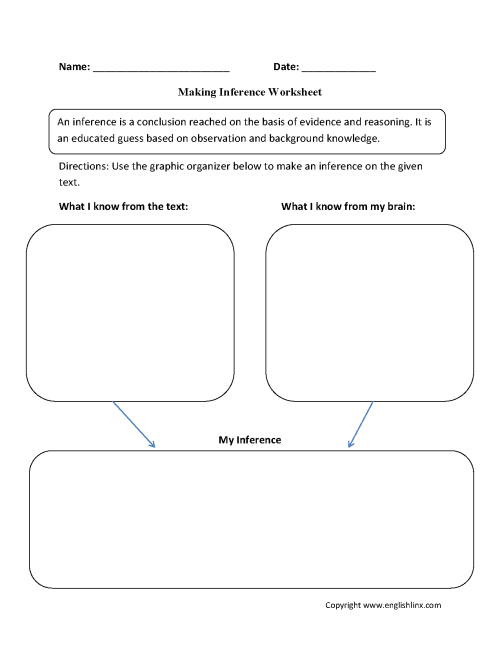 small resolution of Reading Worksheets   Inference Worksheets