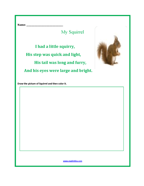small resolution of Englishlinx.com   Poetry Worksheets