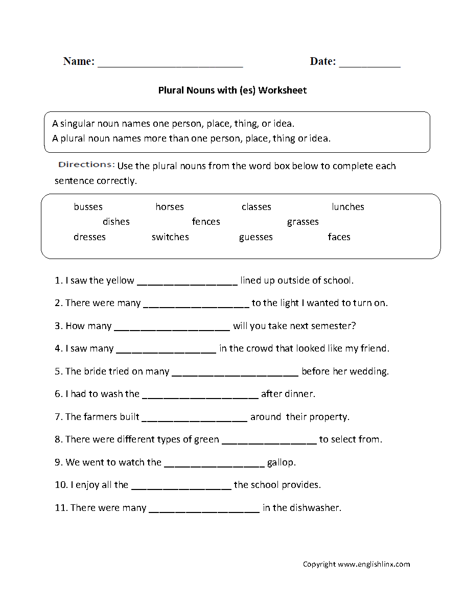 hight resolution of Parts Speech Worksheets   Noun Worksheets