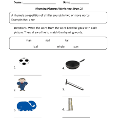 Englishlinx.com   Rhyming Worksheets [ 1662 x 1284 Pixel ]