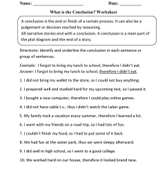 Reading Worksheets   Drawing Conclusions Worksheets [ 2200 x 1700 Pixel ]