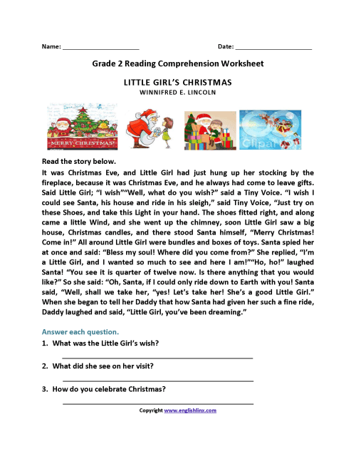small resolution of Reading Worksheets   Second Grade Reading Worksheets