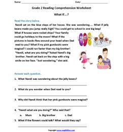 Reading Worksheets   Second Grade Reading Worksheets [ 2200 x 1700 Pixel ]