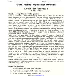 Download 7Th Grade Reading Comprehension Pdf Pics – Tunnel To Viaduct Run [ 2200 x 1700 Pixel ]
