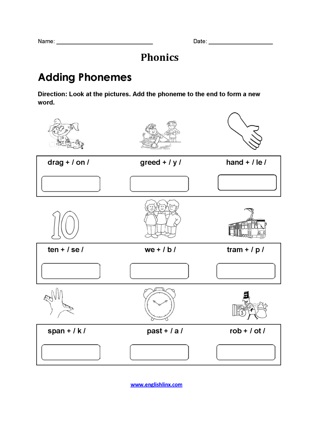 medium resolution of Grade 3 Consonant Blend Worksheets - Letter