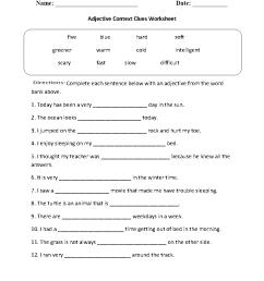 Reading Worksheets   Context Clues Worksheets [ 1188 x 910 Pixel ]