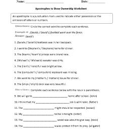 Englishlinx.com   Apostrophes Worksheets [ 1188 x 910 Pixel ]