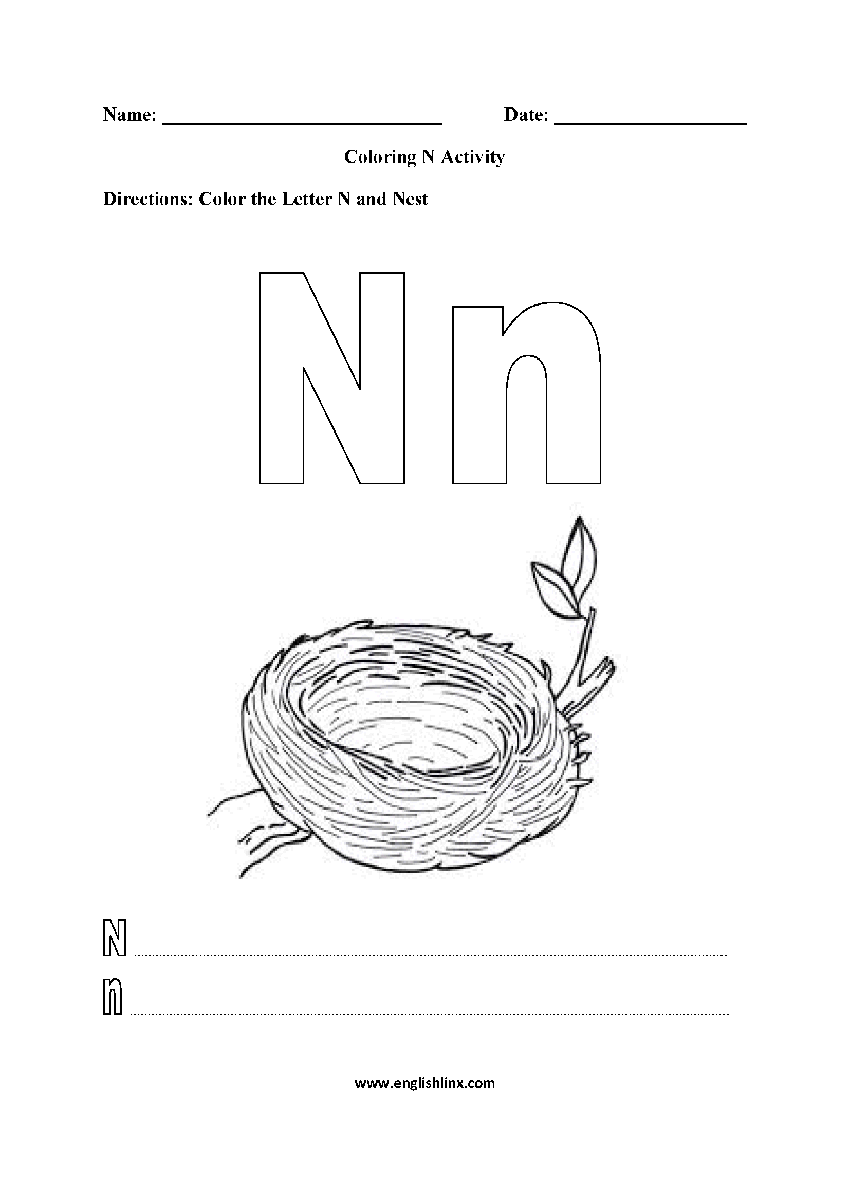 N Factorial Worksheet
