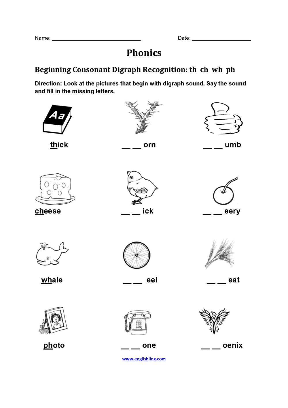 medium resolution of Englishlinx.com   Phonics Worksheets