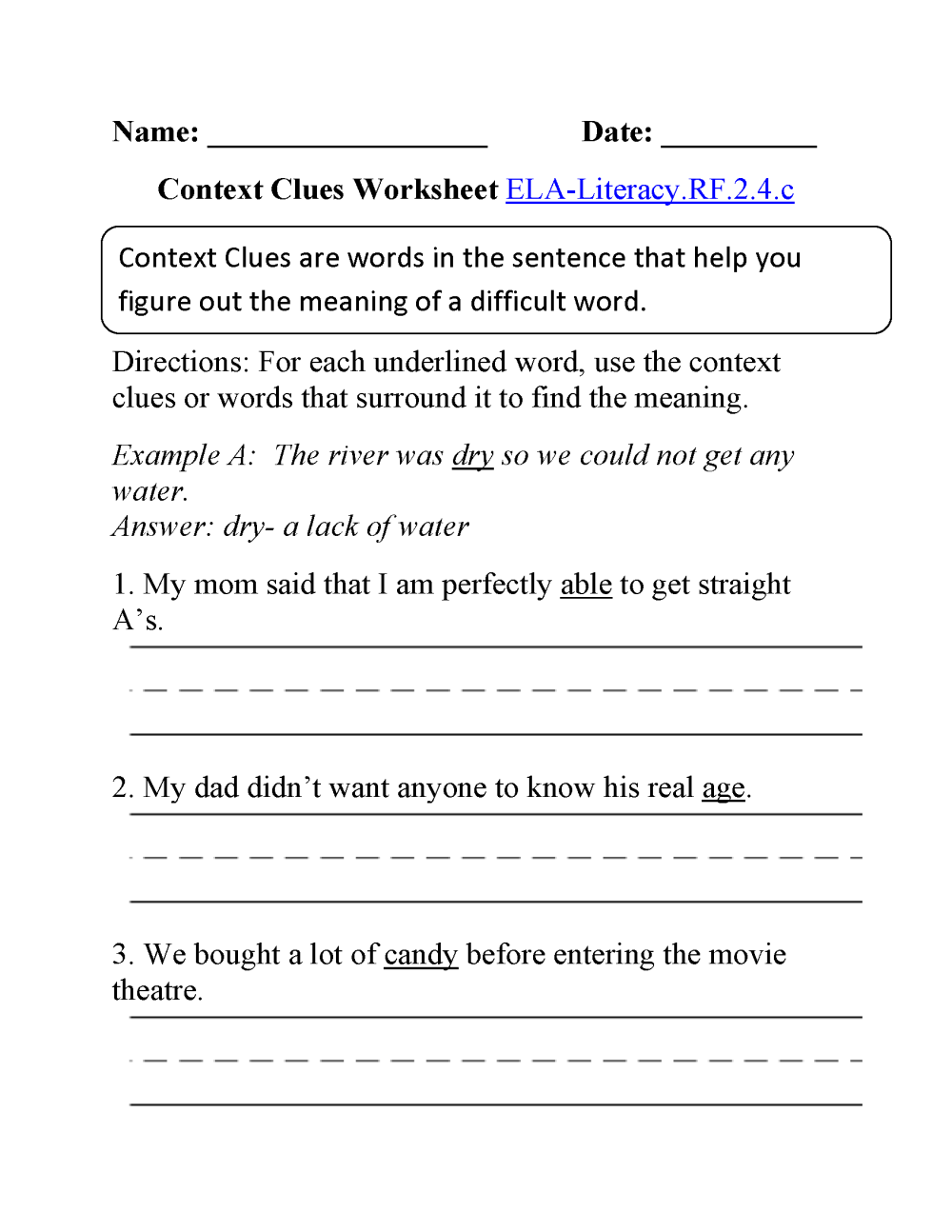 medium resolution of 2nd Grade Common Core   Reading Foundational Skills Worksheets