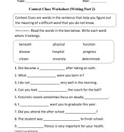 Englishlinx.com   Context Clues Worksheets [ 1199 x 910 Pixel ]