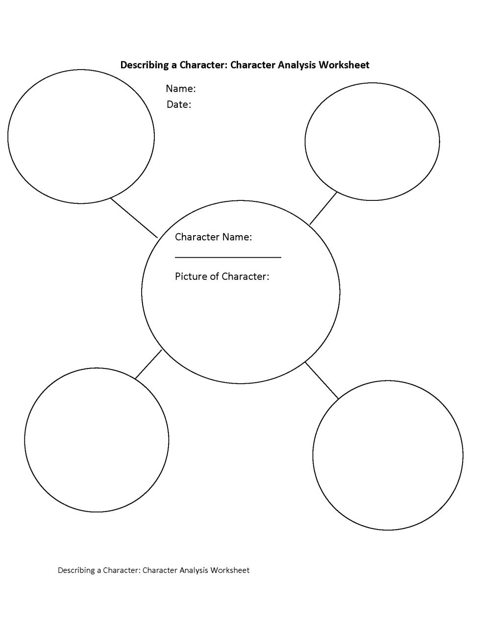 medium resolution of Englishlinx.com   Character Analysis Worksheets